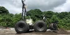 (Русский) PISCES – робот-строитель, предназначенный для сооружения баз и космодромов на других планетах