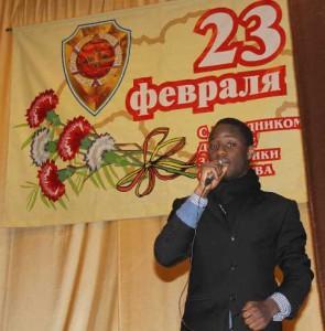 Студент Университета из Анголы Мониз Родриго Елиас Балтазар, Лауреат конкурса «Студенческая весна-2016», участник конкурсов вокального мастерства.